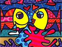 Romero Britto 'Deeply In Love'