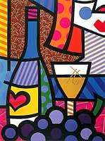 Romero Britto 'A Taste Of Love'