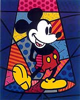 Romero Britto 'Mickey Mouse'