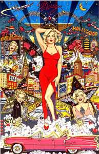 Charles Fazzino 'Forever Marilyn'